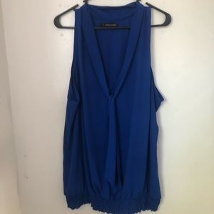 Blue maurices 2x top